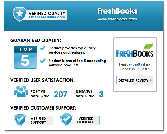 Verified Quality Seal Example