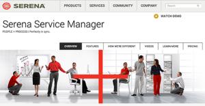 Logo of Serena Service Manager