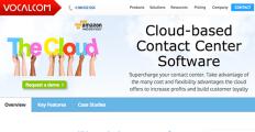 Logo of Vocalcom Cloud Contact Center