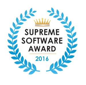 KiteDesk won our Supreme Software Award for 2016