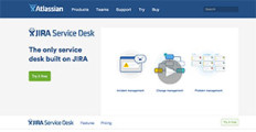 Logo of JIRA Service Desk