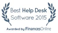 Freshdesk won our Best Help Desk Software Award for 2015
